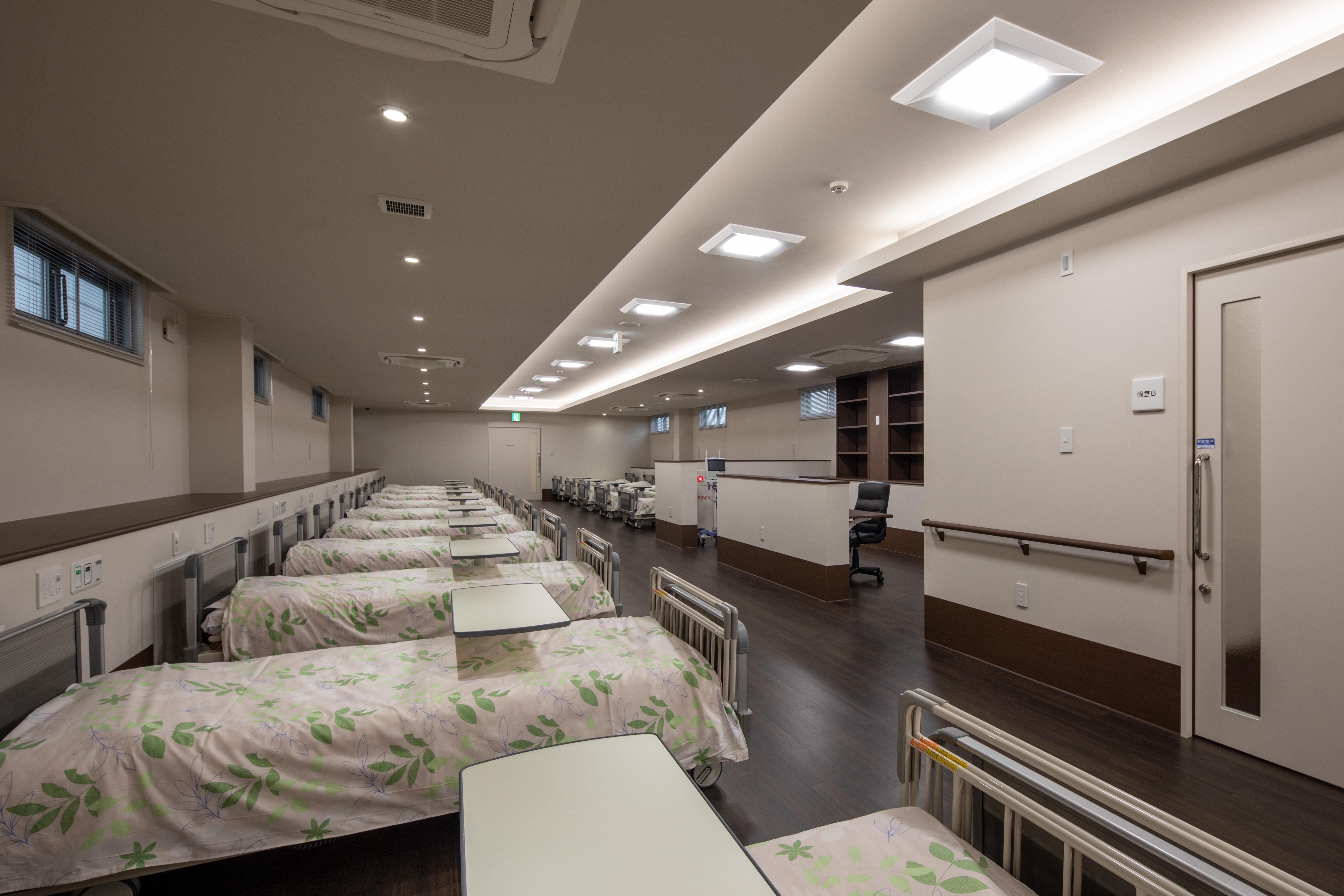 17_2階透析室(ベッド入)